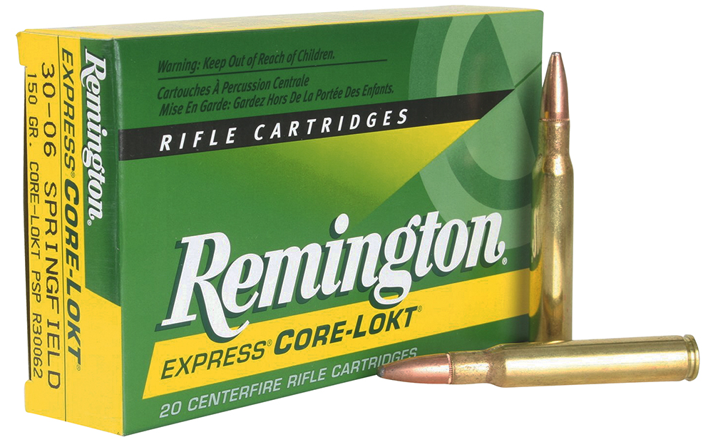 Rem Ammo R338W1 Core-Lokt 338 Win Mag Pointed Soft Point 225 GR 20Box/10Case