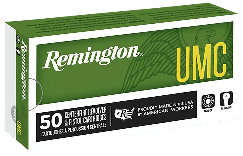 Remington Ammunition L40SW3 UMC 40 Smith & Wesson (S&W) 180 GR Metal Case (FMJ) 50 Bx/ 10 Cs
