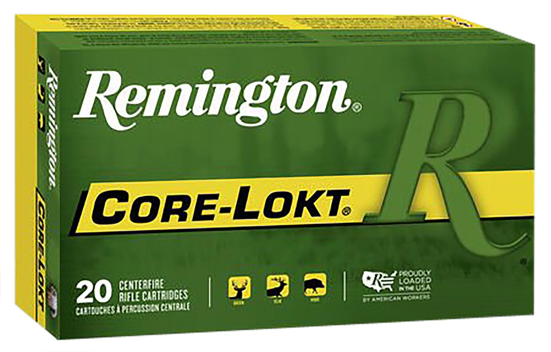 Remington Ammunition R3006B Core-Lokt 30-06 Springfield 165 GR Core-Lokt Pointed Soft Point 20 Bx/ 10 Cs