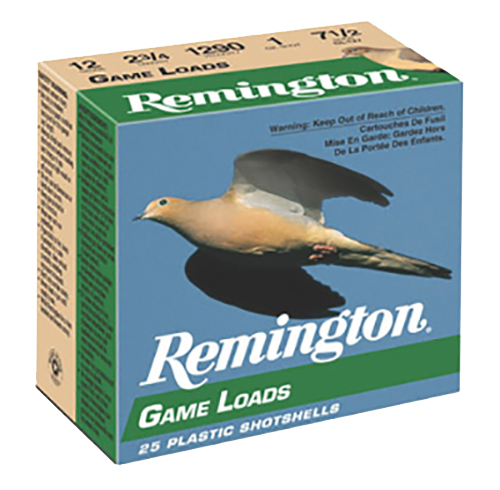 Remington Ammunition GL2075 Lead Game Load 20 Gauge 2.75