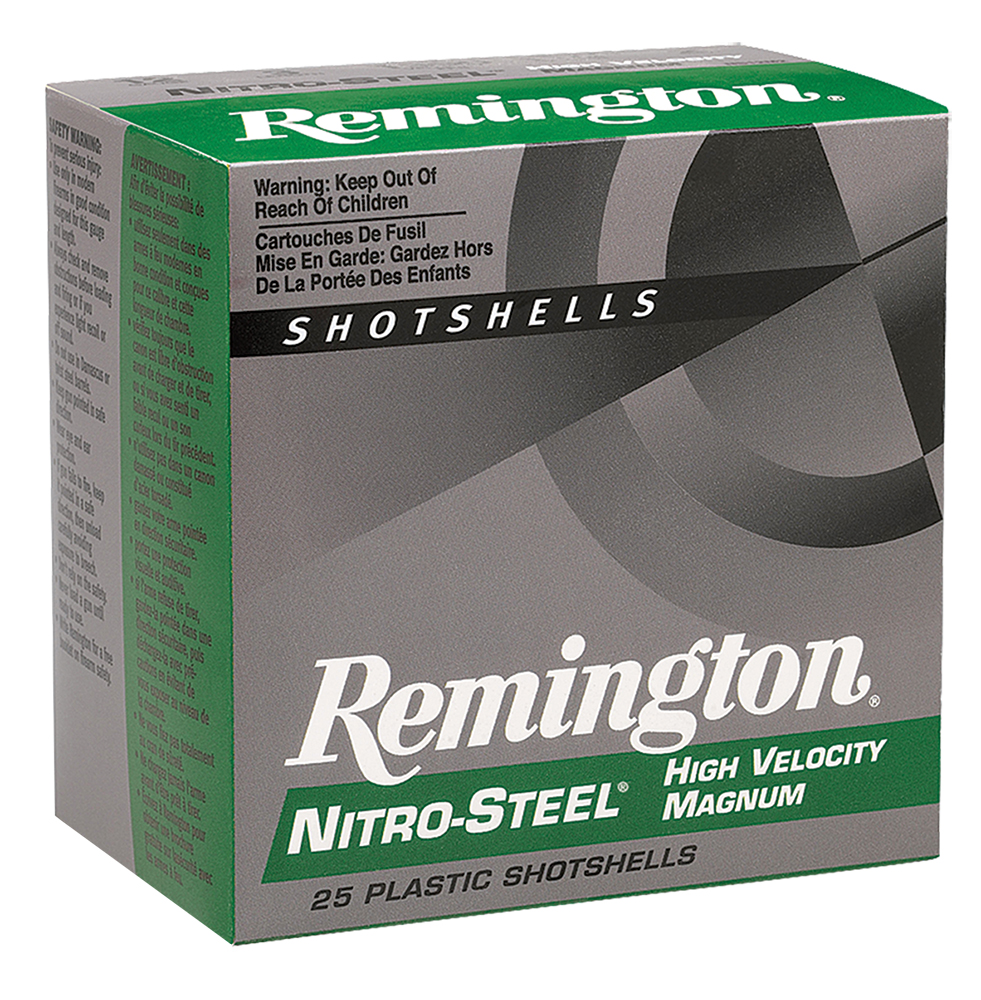 Remington NS12HM4 Nitro Steel Shotshells12 ga 3
