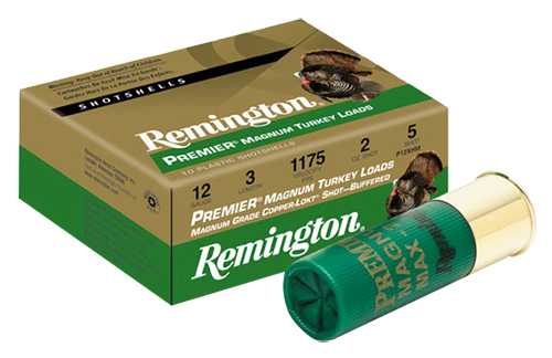 Remington Ammunition P20XHM6 Premier Magnum Copper-Plated Buffered Turkey 20 Gauge 3