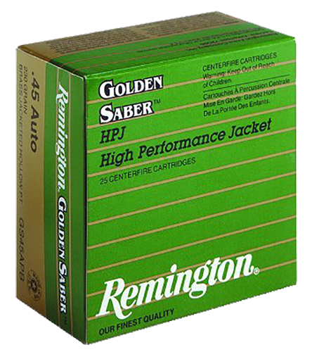 Remington Ammo GS40SWA Premier 40 S&W Boat Tail Hollow Point 165 GR 25Box/20Case