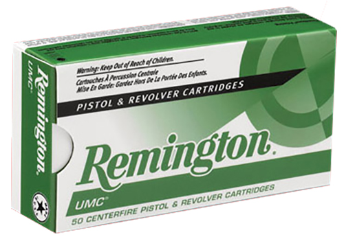 Remington Ammunition L357M12 UMC 357 Magnum 125 GR Jacketed Soft Point 50 Bx/ 10 Cs
