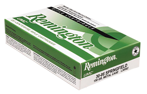 Remington L30062 UMC 30-06 Springfield 150GR Metal Case (FMJ) 20Box/10Case