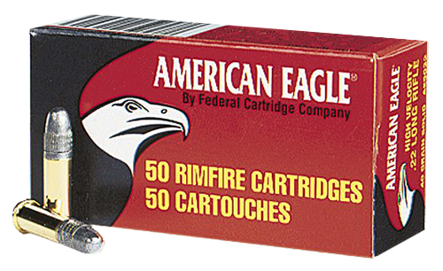 Federal AE5022 22 Long Rifle Lead Round Nose 40 GR 50Box/100Case