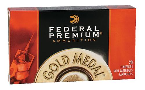 Federal GM3006M Premium 30-06 Spg Sierra MatchKing BTHP 168 GR 20Box/10Case