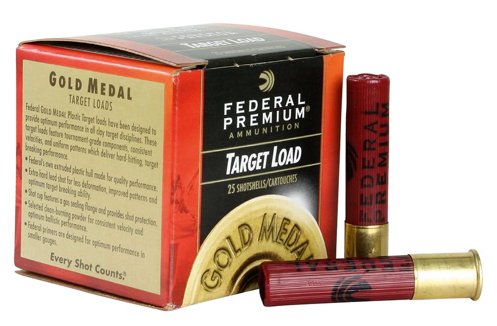 Federal T41285 Target Gold Medal Plastic  410 Gauge 2.5