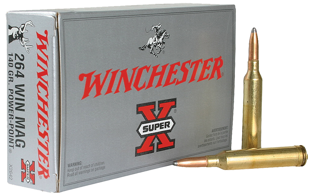 Winchester Ammo X2642 Super-X 264 Winchester Magnum 140 GR Power-Point 20 Bx/10 Cs