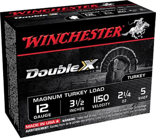 Winchester Ammo XXT12L5 Double X Turkey 12 Gauge 3.5