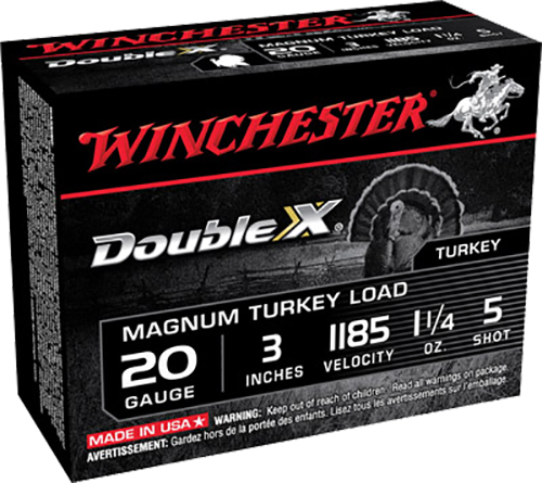 Winchester Ammo X203XCT5 Double X Turkey 20 Gauge 3
