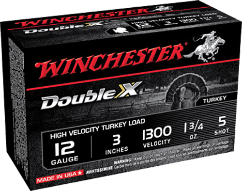 Winchester Ammo STH1235 Double X Turkey 12 Gauge 3