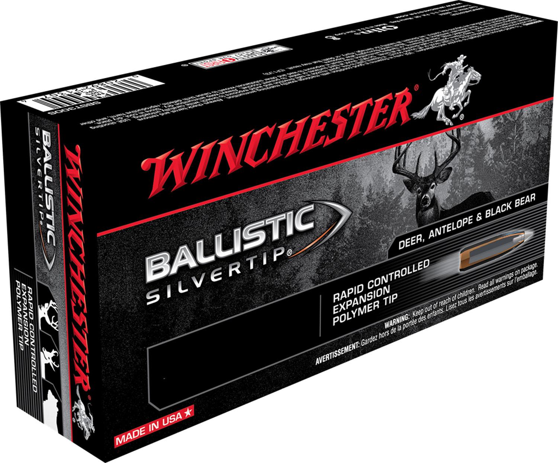 Winchester Ammo SBST7 Supreme 7mm Remington Magnum 150 GR Ballistic Silvertip 20 Bx/ 10 Cs