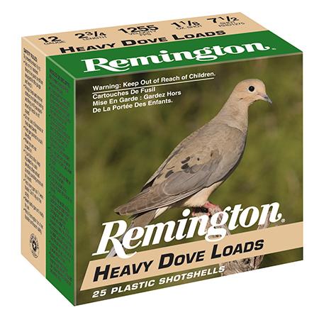 Rem RHD1275 Heavy Dove Loads 12 ga 2.75
