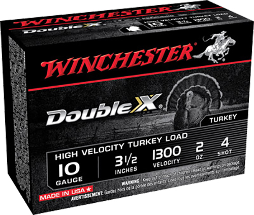 Winchester Ammo STH104 Double X Turkey 10 Gauge 3.5
