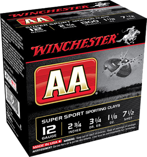 Winchester Ammo AASC127 AA Target Loads 12 Gauge 2.75