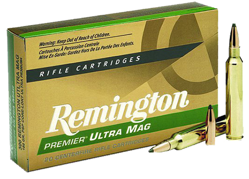 Rem Ammo PR300SM2 Core-Lokt 300 Win Short Mag Core-Lokt PSP 165 GR 20Box/10Case