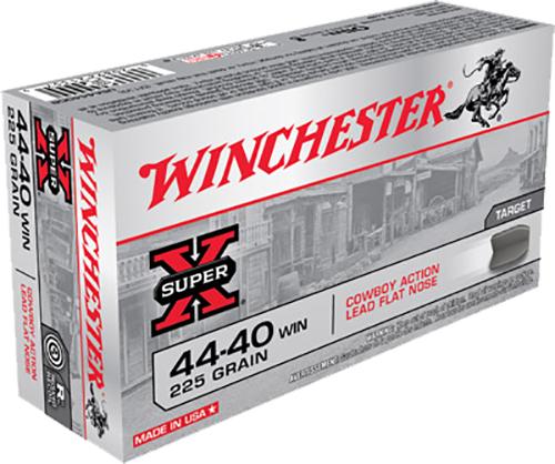 Winchester Ammo USA4440CB USA 44-40 Winchester 225 GR Lead 50 Bx/ 10 Cs