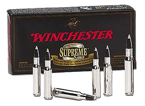 Winchester Ammo SBST243SS Supreme 243 Winchester Super Short Magnum 55 GR Ballistic Silvertip 20 Bx/ 10 Cs