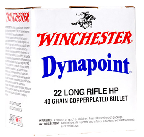 Winchester Ammo WD22LRB Best Value 22 Long Rifle (LR) 40 GR Dynapoint 500 Bx/ 10 Cs