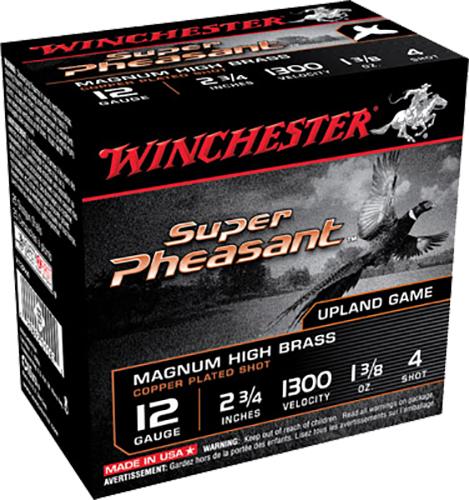 Winchester Ammo X12PH5 Super Pheasant Plated HV 12 Gauge 2.75