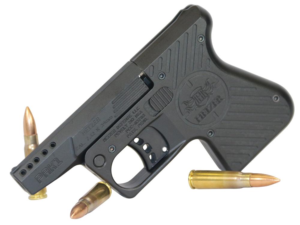 Heizer PAK1BLK PAK1 Pocket AK AK Pistol Single 7.62 x 39mm 3.875