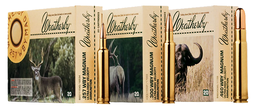Weatherby H460500RN Round Nose Soft Point 460 Weatherby Magnum 500 GR 20Rds