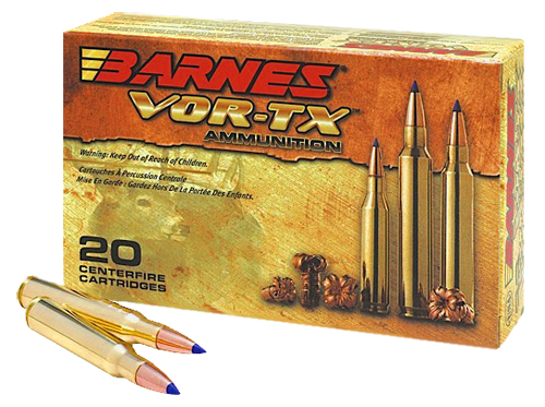 Barnes 21533 VOR-TX 30-06 Springfield 180GR Tipped TSX Boat Tail 20Box/10Case