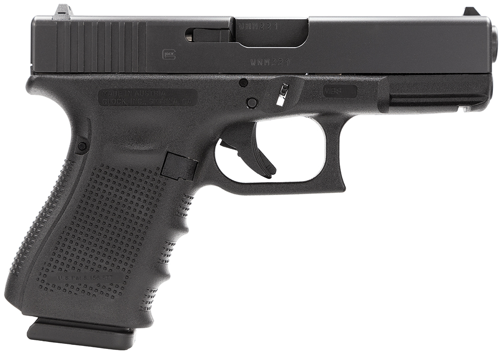 Glock PG1950203 G19 Gen 4 Double 9mm Luger 4.01