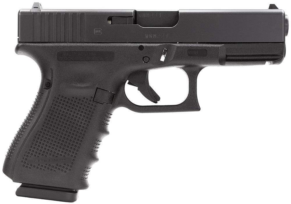 Glock PG1950201 G19 Gen 4 Double 9mm Luger 4.01