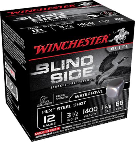 Winchester Ammo SBS12LBB Blindside 12 Gauge 3.5