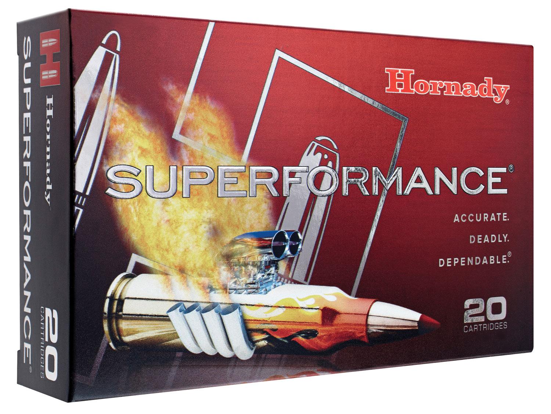 Hornady 82198 Superformance 300 Winchester Magnum 180 GR InterBond 20 Bx/ 10 Cs