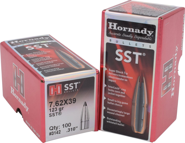 Hornady 3142 SST   7.62mm .310 123 GR 100 Box