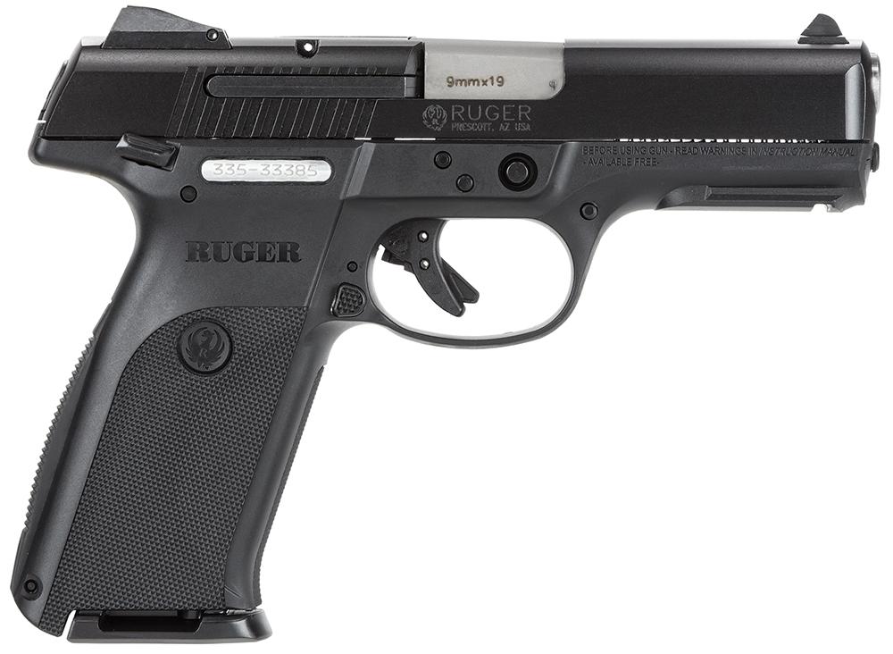 RUGER SR9 9MM 4.1