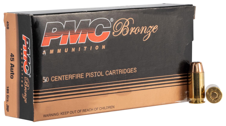 PMC BRNZ 45ACP 185GR JHP 50/1000