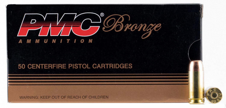 PMC BRNZ 40SW 180GR FMJ FP 50/1000
