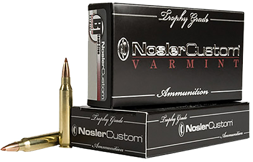 Nosler 60001 Trophy Grade 223 Remington/5.56 NATO 40 GR Ballistic Tip 20 Bx/ 10 Cs
