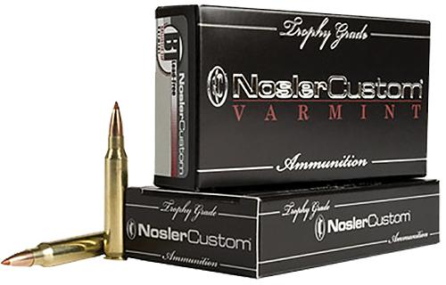 Nosler 60007 Trophy Grade 223 Remington/5.56 NATO 40 GR Ballistic Tip Lead-Free 20 Bx/ 10 Cs
