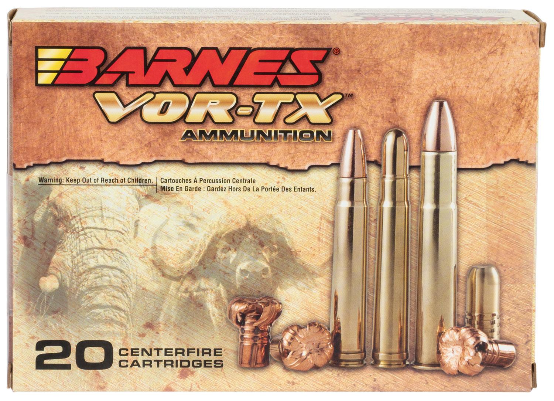 Barnes 22035 VOR-TX 416 Rigby Round Nose Banded Solid 400 GR 20Box/10Case
