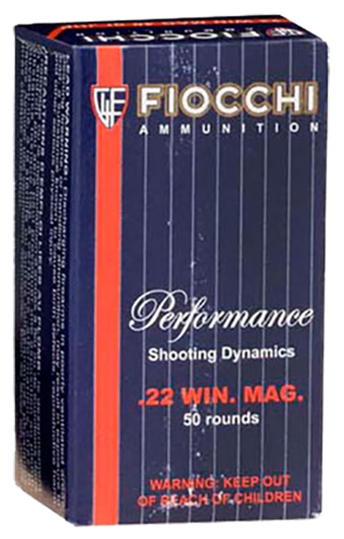 FIOCCHI 22WMR 40GR JHP 50/2000
