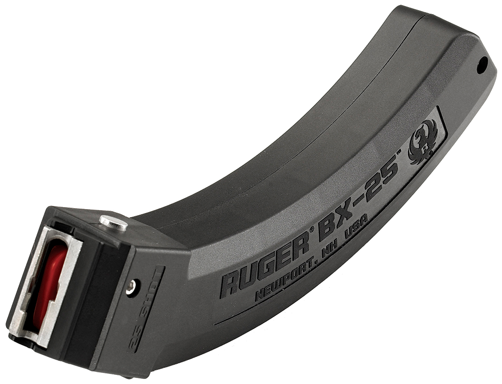 Ruger 90361 10/22 22 Long Rifle (LR) 25 rd BX-25 Polymer Black Finish