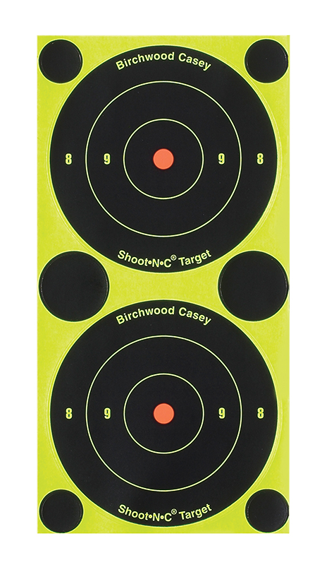 Birchwood Casey Shoot-N-C 3in Round 240 Target 60 Sheet Pack