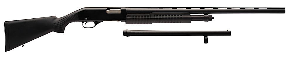 Stevens 320 Field/Security Combo Shotgun  <br>  12 ga. 28 in. Black