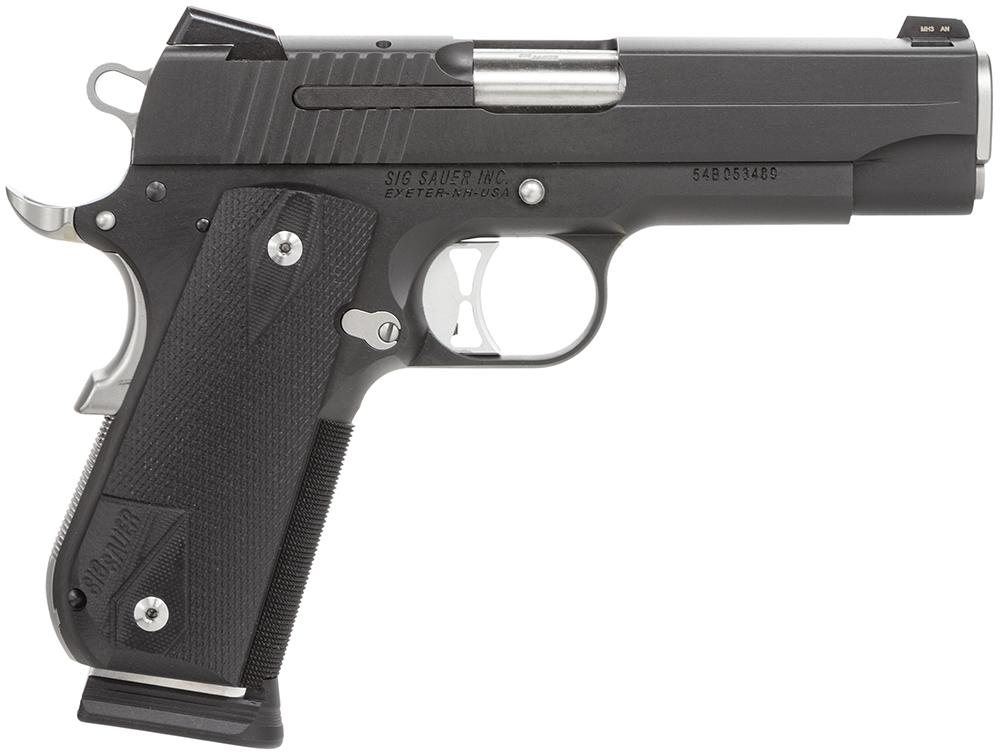 Sig Sauer 1911FCA45NMR 1911 Fastback Nightmare Carry  45 Automatic Colt Pistol (ACP) Single 4.2