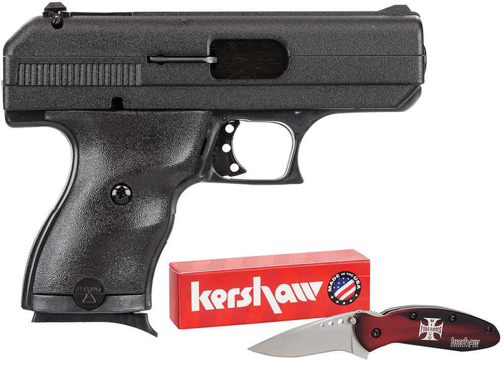 Hi-Point 916HCKNIFE 9mm Compact Double Luger 3.5