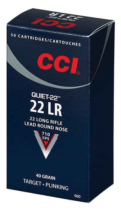 CCI QUIET 22LR 40GR LRN 50/5000