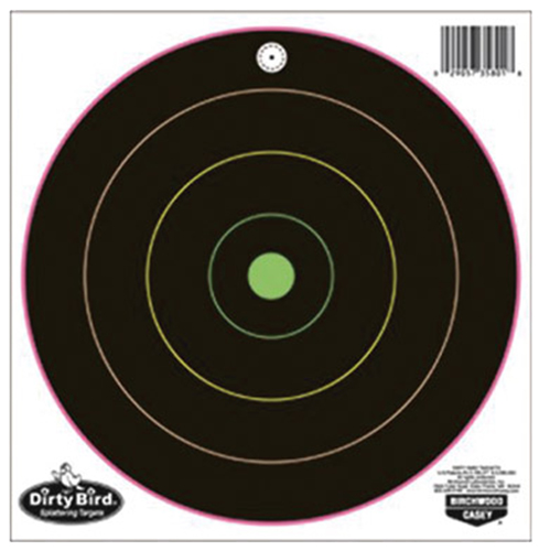 Birchwood Casey Dirty Bird 10-12in Bullseye Trgts 10PK