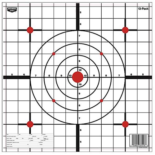 Birchwood Casey 37213 EZE-Scorer Sight-In EZE-Scorer Sight-In 12