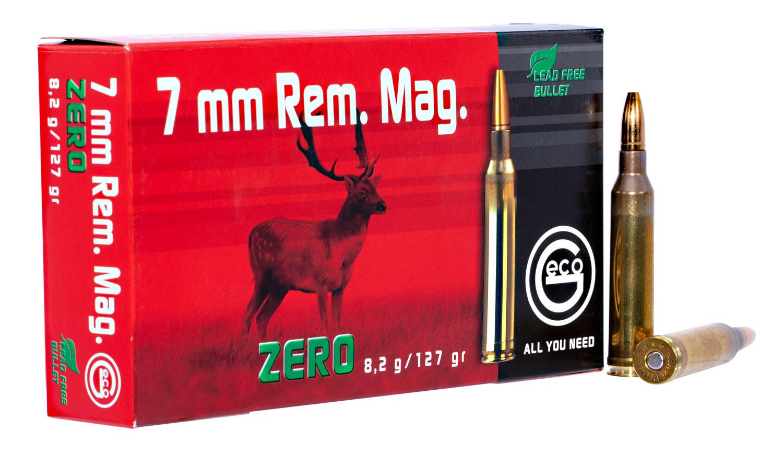 286840020 JHP Geco Zero  7mm Remington Magnum 127 GR Jacketed Hollow Point 20 Bx/10 Cs