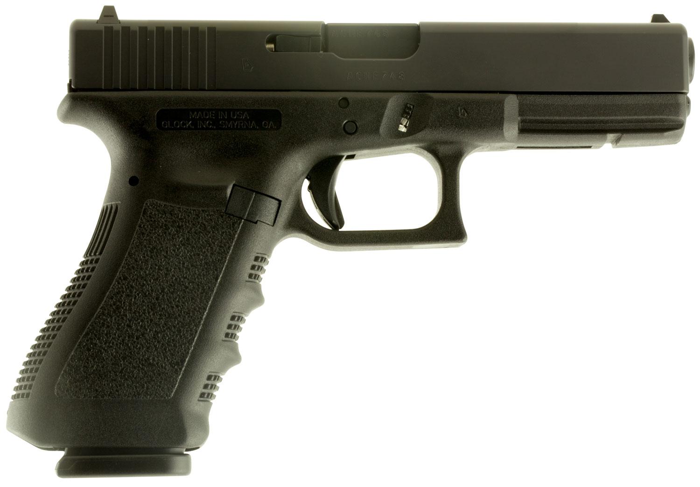 Glock UI1750203 G17 Gen3 9mm Luger 4.48